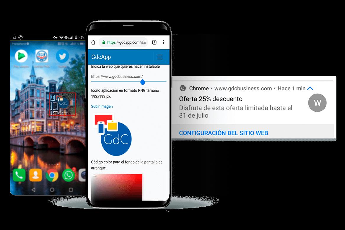 Ejemplo de Progressive Web App